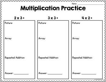 Multiplication Practice (Numbers 1-12)