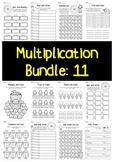 Multiplication Bundle: 11 Times Tables