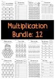 Multiplication Bundle: 12 Times Tables