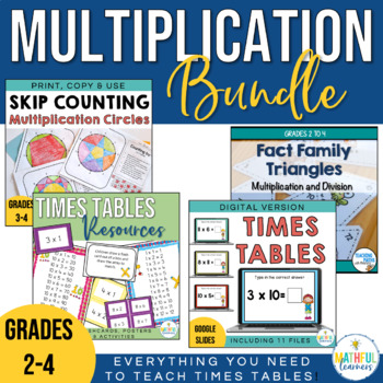 Multiplication Times Tables Bundle