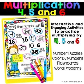 Multiplication Bundle Factors 4, 5, and 6