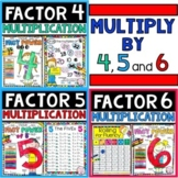 Multiplication Bundle Factors 4, 5, and 6