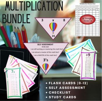 Multiplication BUNDLE (Facts 0-12)