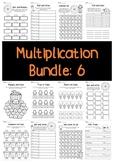 Multiplication Bundle: 6 Times Tables