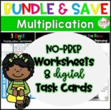 Multiplication  Bundle| Distance Learning