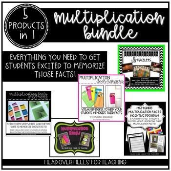 Multiplication Bundle {Everything to memorize those multip