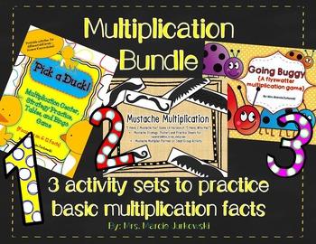 Multiplication Bundle for Basic Fact Practice