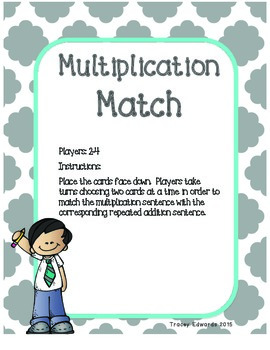 Multiplication Games for Beginners