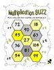 16 Multiplication Buzz Dice Games (Common Core)