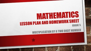 Multiplication By a Two Digit Number