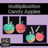 Multiplication Candy Apples