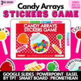 Multiplication Candy Arrays SMART BOARD Game - Common Core Aligned