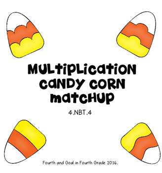 Multiplication Candy Corn Matchup