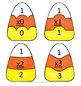 Multiplication Candy Corn Matchup