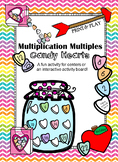 Multiplication Mulitples- Candy Hearts