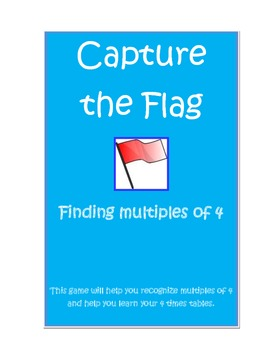 Multiplication: Capture the Flag 4's tables