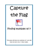 Multiplication: Capture the Flag 7's tables
