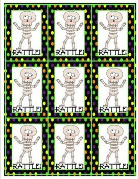 Multiplication Card Game (Halloween Theme)