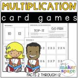 Multiplication Card Games