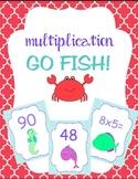 Multiplication Card Games- Go Fish! Memory! War!