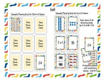 Multiplication Card Games Mega Pack