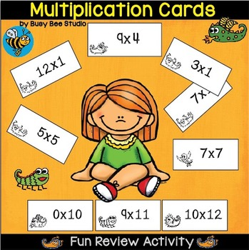 Multiplication Cards (0-12)