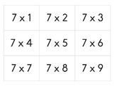 Multiplication Cards (1-12)
