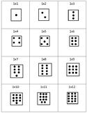 Multiplication Cards 1-5