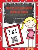 Multiplication Center Activity using QR Codes and iPad - Flashcards