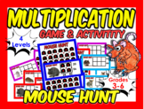 Multiplication Center Puzzle (great for grades 3-6)