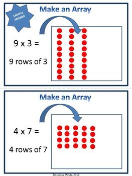 Third Grade Multiplication Centers