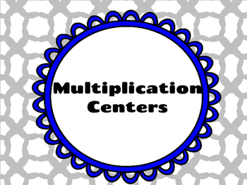 Multiplication Centers