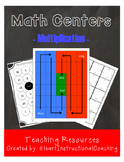 Multiplication Center Games