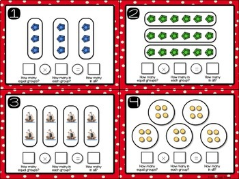 Multiplication Centers {Equal Groups Strategy}