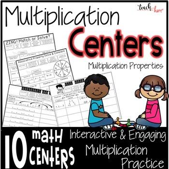 Multiplication Centers Multiplication Games
