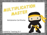 Multiplication Certificates