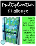 Multiplication Challenge