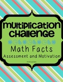 Multiplication Challenge Math Facts Assessment Tool