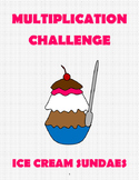 Multiplication Challenge: Ice Cream Sundae Contest