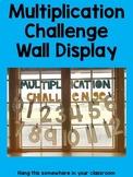 Multiplication Challenge Wall Display