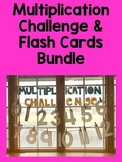Multiplication Challenge and Flash Cards Bundle