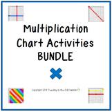 Multiplication Chart Activities BUNDLE
