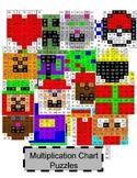 Multiplication Chart Bundle