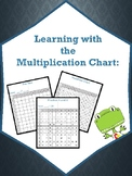 Multiplication Chart Practice Packet