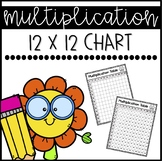 Multiplication Chart (up to the 12's) - FREEBIE!
