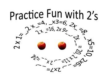 Multiplication Charts