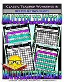 Multiplication Charts - Variety of Styles Complete/Missing
