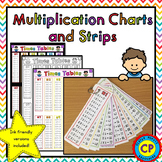 Multiplication Charts and Strips - Great for learning Times Tables!