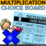 Multiplication Choice Board