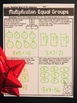 Multiplication   Christmas Multiplication Activities with Word Problems
